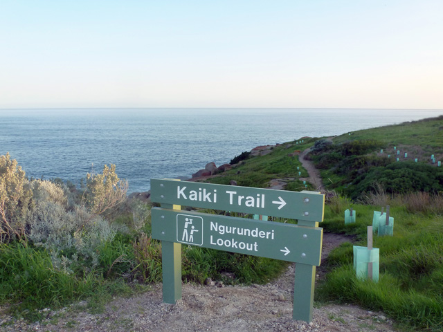 Kaiki walking trail in Victor Harbor