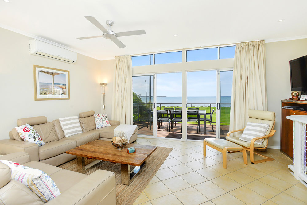 Comfortable living area at Waimea in Victor Harbor